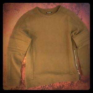 Balmain Khaki Sweatshirt Sz L Unisex